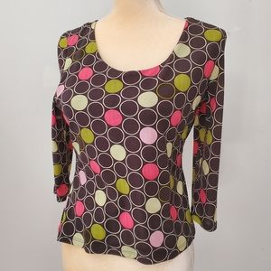 International Concepts Womens Small Blouse